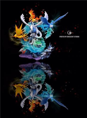 【In Stock】Crescent Studio Pokemon Lugia & Legendary Birds Resin Statue