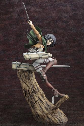 【Preorder】Kotobukiya ARTFX J Attack on Titan Mikasa·Ackerman PVC Figure's Postcard