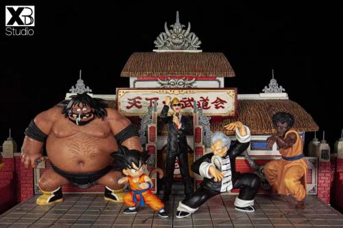 【In Stock】XBD Studio Dragon Ball World Martial Arts Tournament Kid Goku&Dirty Boy Resin Statue