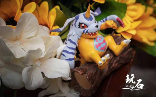 【In Stock】Wanshi Studio Pokemon Gabumon Resin Statue