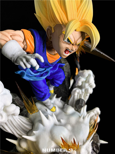 【Preorder】Number 9 Studio Dragon Ball Vegetto Resin Statue's Postcard