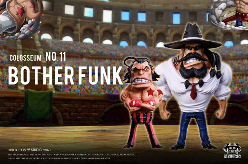 【In Stock】YZ Studio ONE PIECE Brothers Funk Resin Statue
