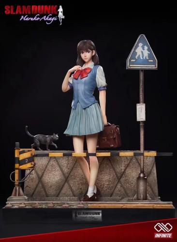 【Preorder】INIFINITE Studio SlamDunk Haruko Akagi Resin Statue's Postcard