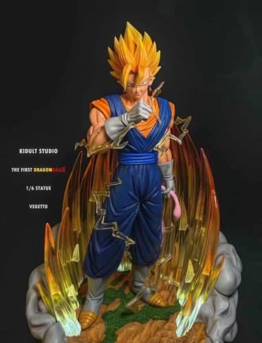 【Preorder】KIDULT STUDIO Dragon Ball Vegetto Resin Statue's Postcard
