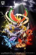 【Preorder】MFC Studio Pokemon The legend of burning Resin Statue's Postcard