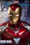 【Preorder】Queen Studio Marvel Iron Man MarK85 & Mark49 1/1 Scale Copyright Bust's Postcard