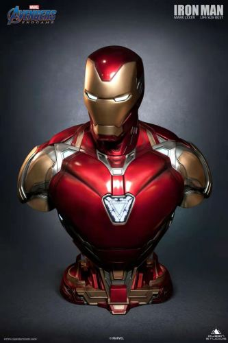 【Preorder】Queen Studio Marvel Iron Man MarK85 & Mark49 1/1 Scale Copyright Bust's Postcard