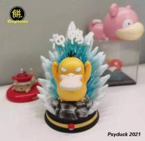 【Preorder】BingHouse Studio Pokemon Psyduck 2021 Resin Statue's Postcard