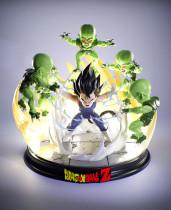 【Preorder】KRC Studio Dragon Ball Kid Vegeta vs Saibaiman Resin Statue's Postcard
