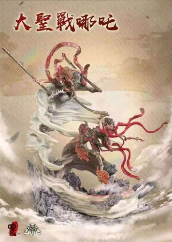 【Preorder】JDY x GYZ Studio The Monkey King VS Nezha Resin Statue's Postcard