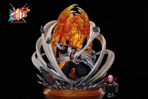【Preorder】WS Studio BLEACH Zaraki Kenpachi Resin Statue's Postcard