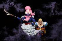 【In Stock】A+ Studio ONE PIECE Big Mom Pirates Daifuku&Daifuku's Genie Resin Statue