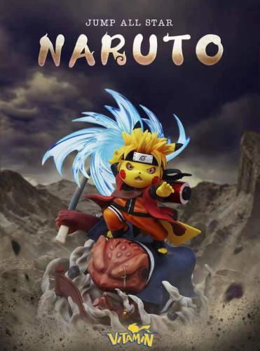 【Preorder】Vitamin Studio Pokemon Pikachu cosplay Naruto Resin Statue's Postcard