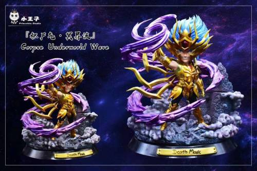 【Preorder】Princekin Studio Saint Seiya Death Mask Resin Statue's Postcard
