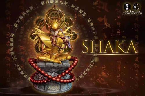 【Preorder】XS Studios & Yang Studios Saint Seiya Virgo Shaka Resin Statue's Postcard
