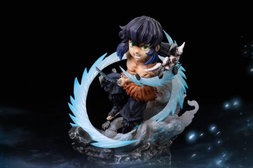 【Preorder】G5 Studio Demon Slayer Hashibira Inosuke Resin Statue's Postcard