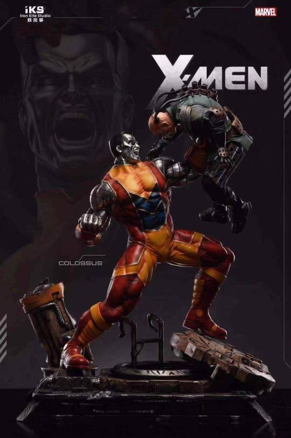 【Preorder】Iron Kite Studio Marvel X-Men Colossus Resin Statue's Postcard(Copyright)