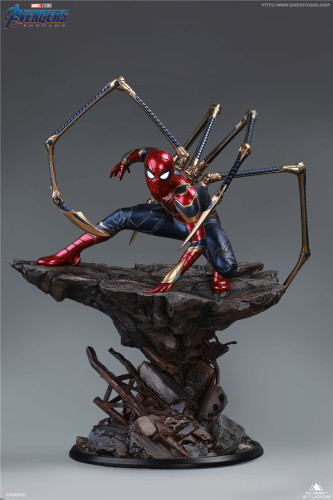 【Preorder】Queen Studio Marvel Iron Spider-Man 1/4 Resin Statue Copyright Resin Statue's Postcard