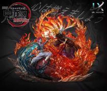 【Preorder】LX Studio Demon Slayer Rengoku Kyoujurou vs Akaza Resin Statue's Postcard