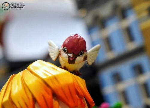 【Preorder】ShowHand Studio Demon Slayer Agatsuma Zenitsu Resin Statue's Postcard