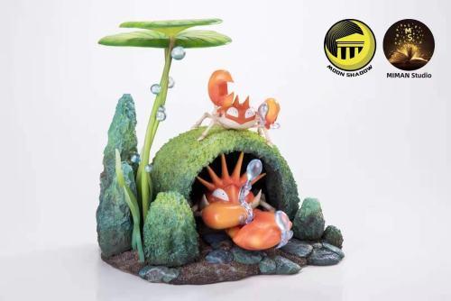【Preorder】Miman Studio x Moon Shadow Pokemon Kingler Resin Statue's Postcard