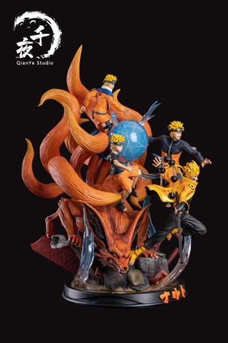 【Preorder】Qianye Studio Naruto Four Stages Resin Statue's Postcard