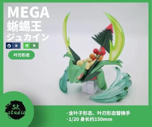 【Preorder】SK Studio Pokemon MEGA Sceptile Resin Statue's Postcard