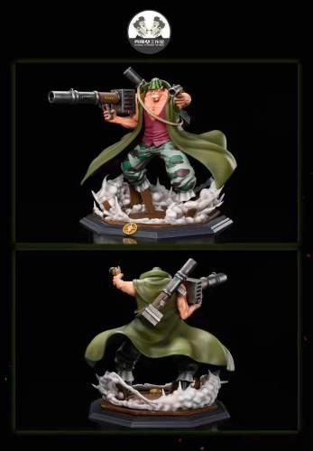 【In Stock】Clone Studio One Piece Whitebeard Pirates Curiel Resin Statue