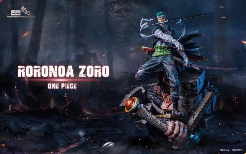 【In Stock】YUNQI Create ONE PIECE Zoro resin statue