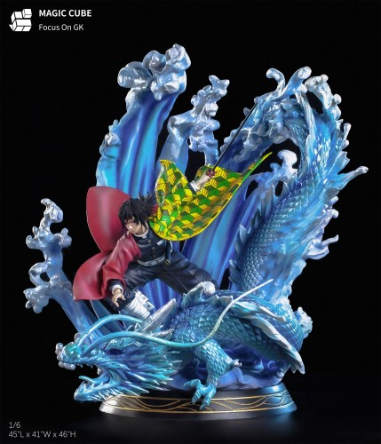 【Preorder】Magic Cube Studio Demon Slayer Tomioka Giyuu Resin Statue's Postcard