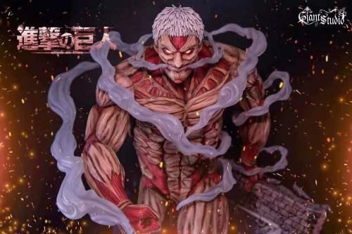 【Preorder】Giant Studio Attack on Titan  The Armored Titan resin statue's postcard