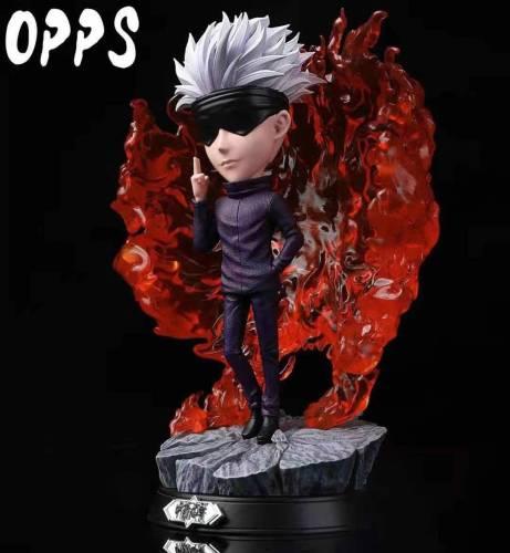 【Preorder】OPPS Studio Jujutsu Kaisen Gojo Satoru Resin Statue's Postcard
