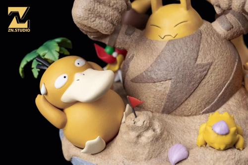 【Preorder】ZN Studio Pokemon Yellow Series Resin Statue's Postcard