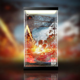 【In Stock】HOT TOYS 1/4 Iron Man MKIII Acrylic Display Box