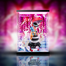 【In Stock】Megahouse One Piece POP Perona PVC Statue Acrylic Display Box