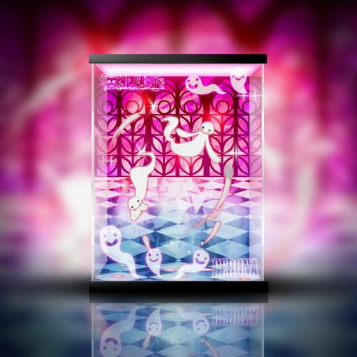 【In Stock】Megahouse One Piece POP Perona PVC Statue Acrylic Display Box