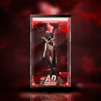 【In Stock】Green Leaf Studio Resident Evil Ada Wong Statue Acrylic Display Box