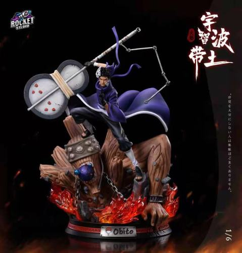【Preorder】Rocket Studio Naruto Uchiha Obito White Mask Rinnegan Resin Statue's Postcard