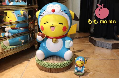 【Preorder】MOMO Studio Pikachu cosplay Doraemon Resin Statue's Postcard