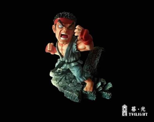 【Preorder】Twilight Studio Street Fighter Ken Resin Statue's Postcard