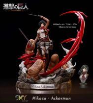 【Preorder】Sky Top Studio Attack on Titan Mikasa·Ackerman Resin Statue's Postcard