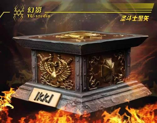 【Preorder】Yu Studio Saint Seiya The Five Bronze Sanits 001 Ikki Resin Statue's Postcard