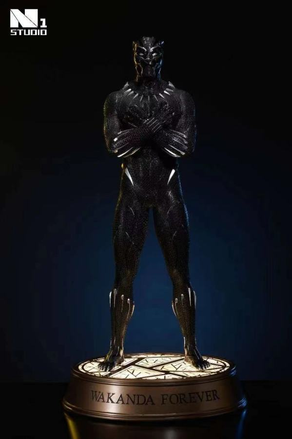 【Preorder】N1 Studio Marvel Black Panther Wakanda Forever Resin Statue's Postcard