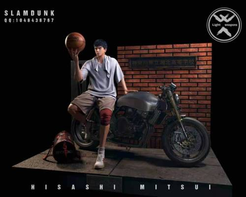 【Preorder】Light Weapons Studio SlamDunk Hisashi Mitsui Resin Statue's Postcard