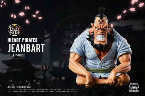 【Preorder】YZ Studio ONE PIECE Iheart Pirates Jeanbart Resin Statue's Postcard