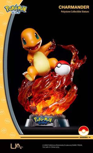 【Preorder】Unique Art Pokemon Charmander Copyright Resin Statue's Postcard