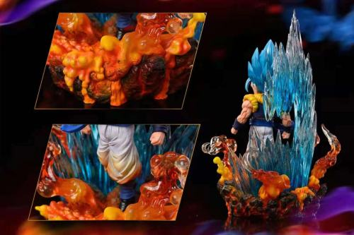 【Preorder】League Studio Dragon Ball The Raging Warroor Gogeta Resin Statue's Postcard