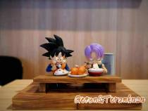 【Preorder】A+ Studio Dragon Ball Foodie Series Gotenks&Trunks Resin Statue's Postcard