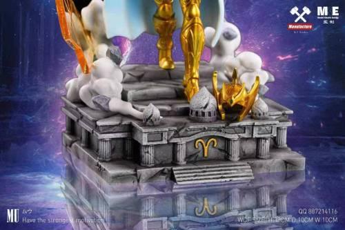 【Preorder】MF&MKE Studio Saint Seiya Aries Mu Resin Statue's Postcard