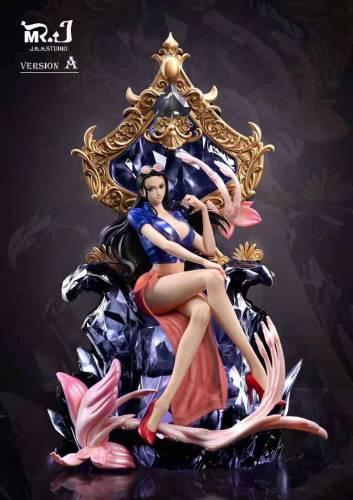 【Preorder】Mr.J Studio ONEPIECE Nico Robin Poker Card Series Spade Resin Statue's Postcard